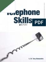 Telephone Skills EReport - Dr. Tony Alessandra