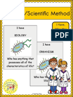Scientific Method and Introduction to Biology i Have Who Has Game Freebie