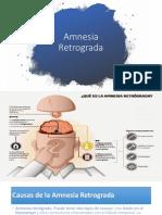 Amnesia Retrogada