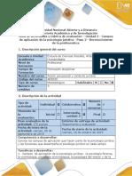 Guía de Actividades y Rubrica de Evaluación - Paso 2 - Reconocimiento de La Problemática