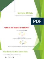 Easy Inverse Matrix