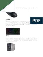 Partes de La Computadora y Del Cpu