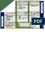 Modelo de calendário acadêmico