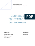 commerce +®quitable fondement