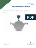 Installation Manual Medidores de Densidad Compactos Compact Density Meter 100 Installation Manual Spanish Micro Motion Es 63804