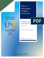 COMPETENCIAS COMUNICATIVAS 3
