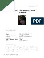 Hoja de Vida Luisa 2019