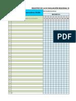Registro de Evaluación_salida - 4to. Primaria Final