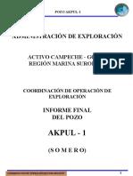 Akpul-1 Informe Final