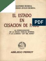 Borda Alejandro - El Estado en Cesacion de Pagos