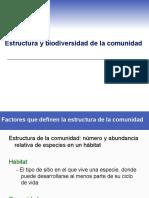 Ecología-Estructura y biodiversidad de la comunidad