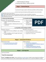 ubd planning unit- ed602