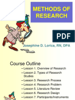 Methods of Research Complete