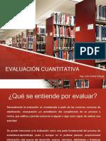 Evaluación Cuantitativa