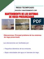 Prevención, Tratamiento y Control de Obstrucciones en RT