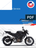 Manual de Servicio Pulsar 200 NS FI ABS