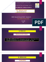 1A Diapositivas EL DESALOJO