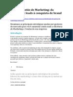 Guia de Gestão de Marketing_da geração de leads à conquista de brand lovers