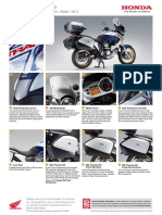Xl700v Transalp - Honda Genuine Accessories