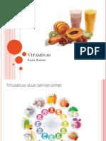 Vitaminas - Enem
