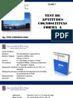 test de aptitudes cognoscitivas forma A