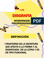 Disgrafia Power Point