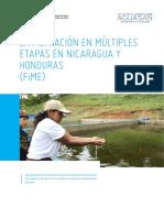 La Filtracion en Multiples Etapas en Nicaragua y HondurasFIME