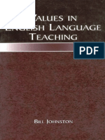 values in english language teaching,