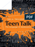 08 Teen Talk the Language of Adolescents Cambridge University
