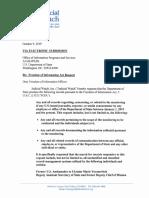 Ukraine Monitoring FOIA Request October 2019