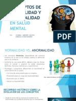 Conducta Normal y Anormal