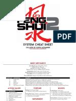 Feng Shui2 Cheatsheet