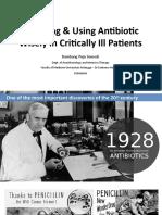 13. Antibiotics in Critically Ill E4ED Final