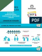 Jurados de Votacion 2019 Autoridades Territoriales Ago 28