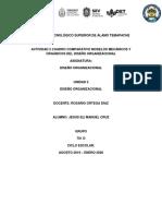 ACTIVIDAD 2 CUADRO COMPARATIVO MODELOS MECÁNICOS Y ORGÁNICOS DEL DISEÑO ORGANIZACIONAL.docx