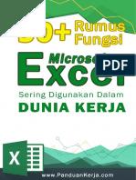 Buku Rumus Excel PDF Gratis 30 Fungsi Ex