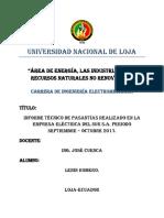 Informe Técnico de Pasantías Eerssa