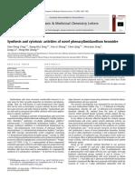 Synthesis and cytotoxic activities of novel phenacylimidazolium bromides