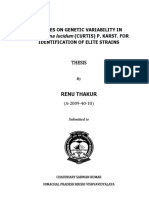 Thesis of ganodrma