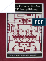 High Power GaAs FET Amplifiers [Walker 1993]