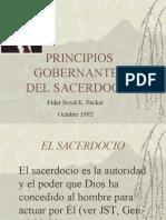principios gobernantes