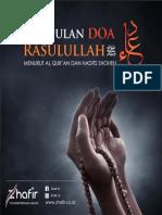 Doa Rasulullah