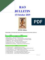 Bulletin 191015 (HTML Edition)