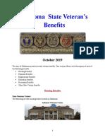 Vet State Benefits - OK 2019