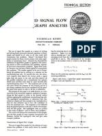 Simplified Signal Flow Graph Analysis [Kuhn HP 1963]