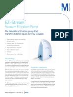 EZ Stream Vacuum Filtration Pump