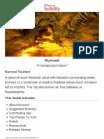 KURNOOL Tourist Guide