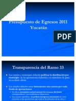 Presupuesto de egresos -México 2011