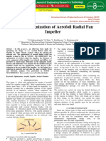 Design Optimization of Aerofoil Radial Fan Impeller IJERTCON072