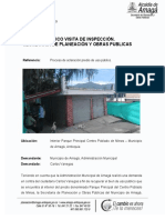 Informe - Parque